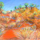 Grasses at Katatjuta by Virginia McGowan