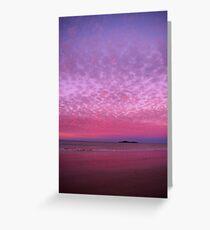 Fairy Floss Sunset Greeting Card