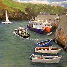 Fishguard Quay by WILT