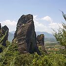 Meteora Pillars of Greece by Adriana Zoon