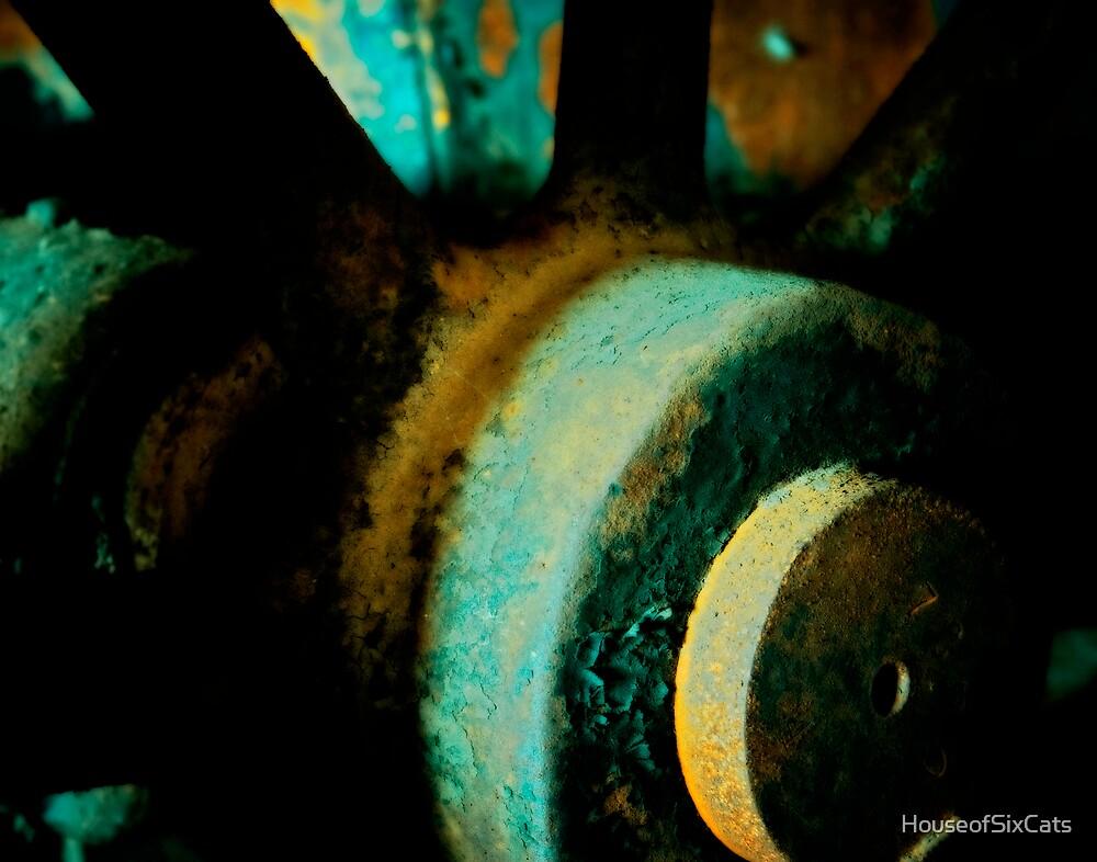 Valve Wheel by HouseofSixCats