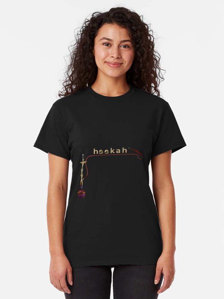 Alternate view of Hookah 3D render Classic T-Shirt