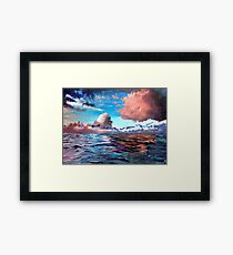 Reality Check Framed Print