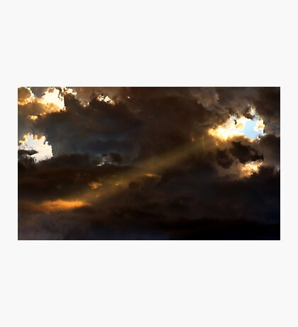 Heavenly Spotlight Photographic Print