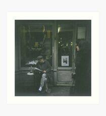 Rue Mouffetard Art Print