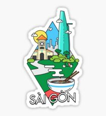 saigon Sticker