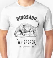 Dinosaur Whisperer - Black Text T-Shirt
