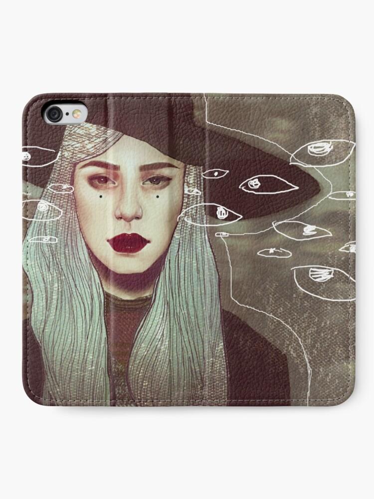 Alternative Ansicht von HEXE iPhone Flip-Case