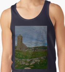 Glencolmcille Panorama with Church Tank Top