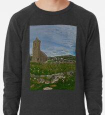 Glencolmcille Panorama with Church Lightweight Sweatshirt