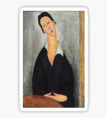 Amedeo Modigliani - Portrait Of A Polish Woman (1919) Sticker
