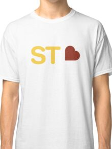 St. Louis Love - Yellow/Red Classic T-Shirt
