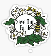 Save Our Earth Sticker