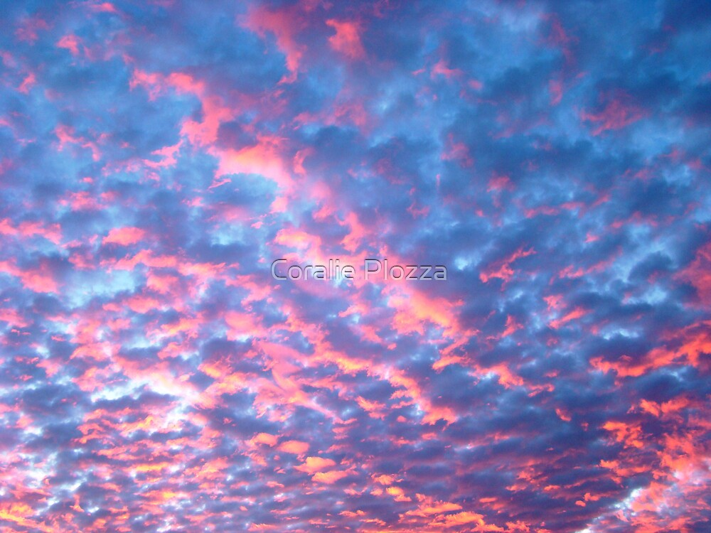 Cotton Candy Clouds by Coralie Plozza