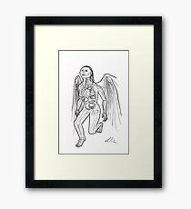 Daneel: Anatomy Framed Print