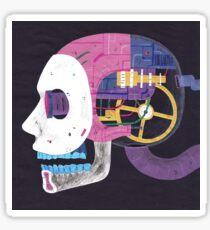 Robot head Sticker