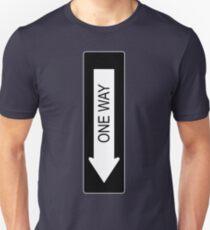 One Way Unisex T-Shirt