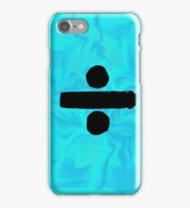 Ed Sheeran Divide Tye Dye  iPhone Case/Skin