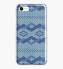 knitted pattern iPhone Case/Skin