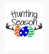 Easter Egg Hunting Season Photographic Print