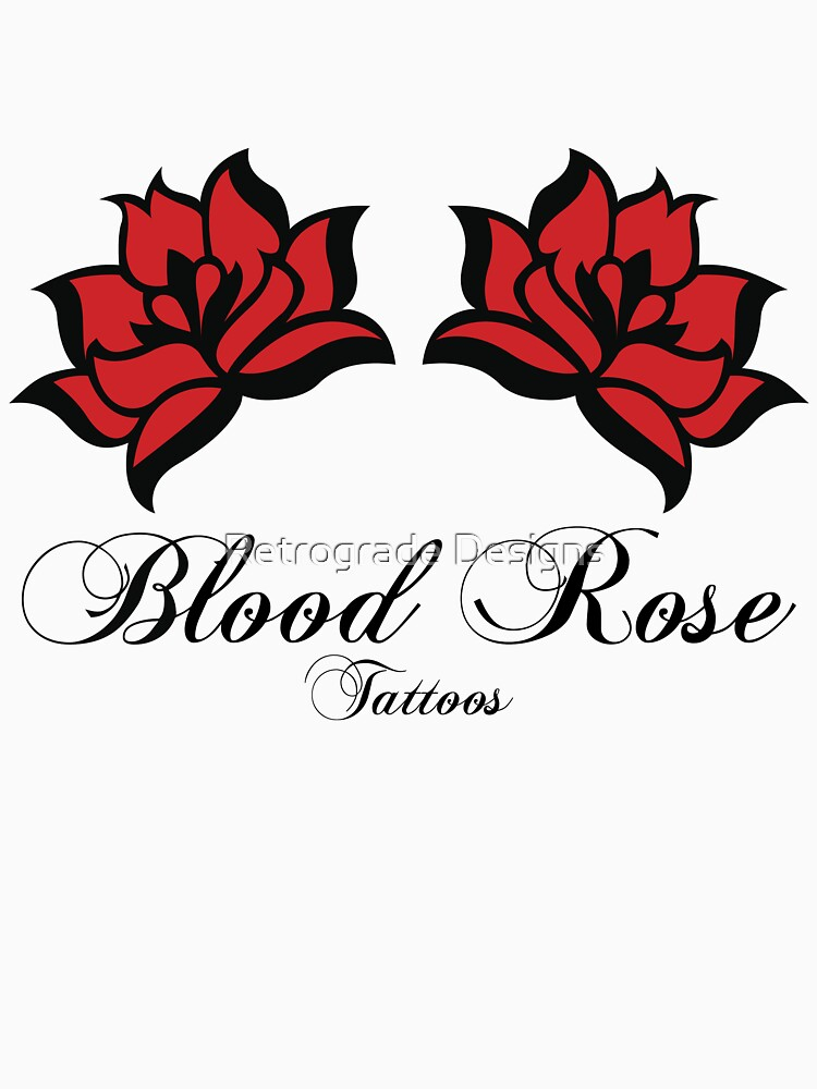 Blood Rose Tattoos by gmack
