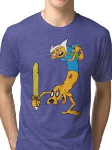 Catventure Time! Tri-blend T-Shirt