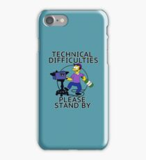 Tech Difficulties  iPhone Case/Skin