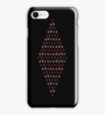 Spell Abracadabra iPhone Case/Skin