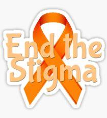 End the Stigma - Mental Health Awareness Sticker