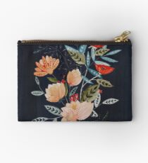 Midnight Bouquet Studio Pouch