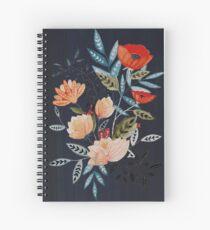 Midnight Bouquet Spiral Notebook