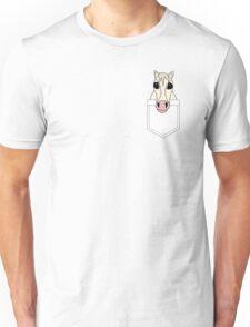 Horse pocket Unisex T-Shirt