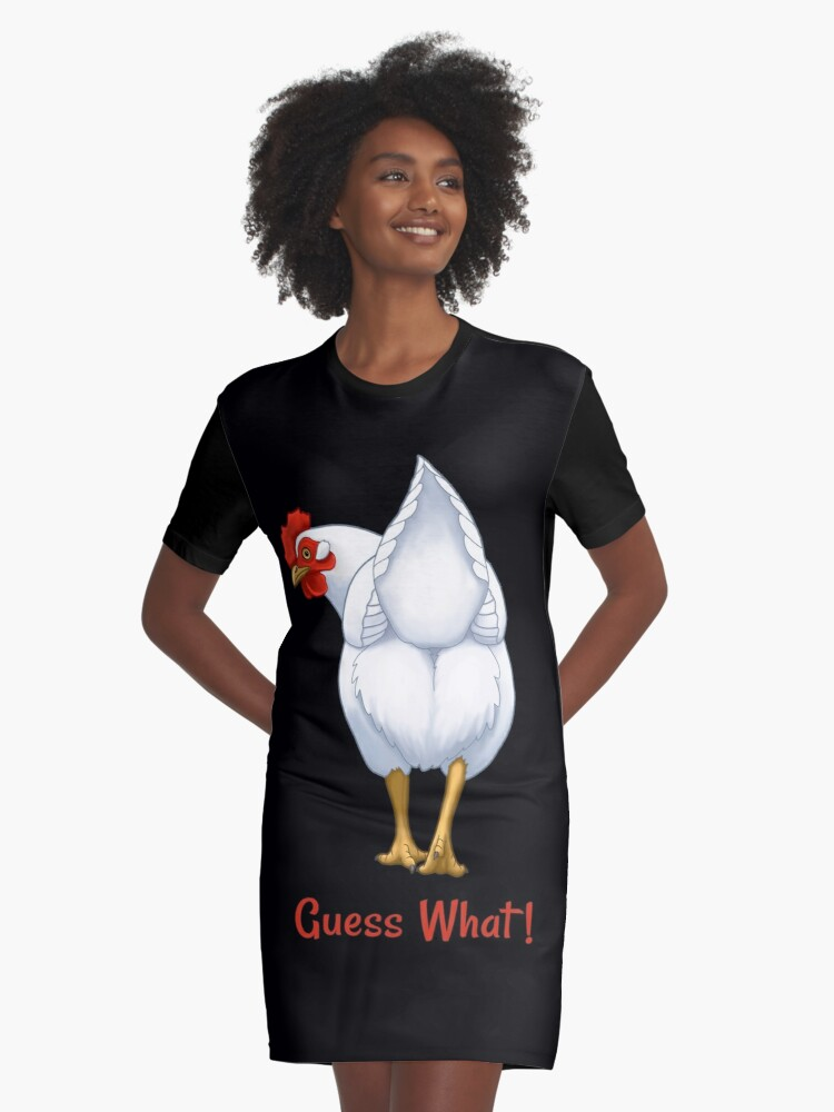 9a6f2f6ae94a Guess What Chicken Butt White Hen