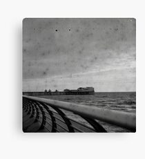 Blackpool Coast and Pier Canvas Print