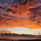 Hell sky ablaze by Luke Jones