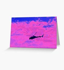 Pink charlie Greeting Card