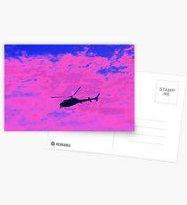 Pink charlie Postcards