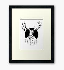 Perkele himself Framed Print