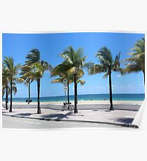 Florida, Fort Lauderdale Beach Poster