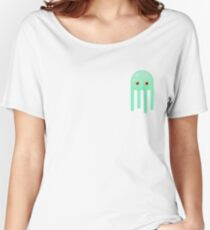 Lime Jellyfish Women's Relaxed Fit T-Shirt