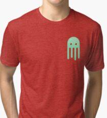 Lime Jellyfish Tri-blend T-Shirt
