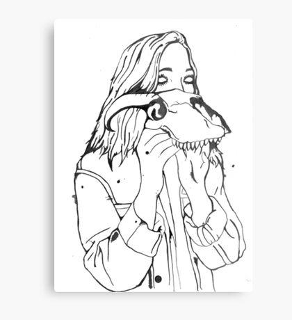 Inky Jess Metal Print