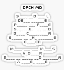 Jeu DPCH MD Sticker