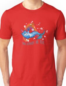 Unicatmaids are real Unisex T-Shirt