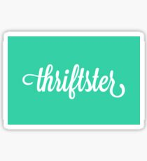 Thriftster Sticker