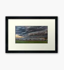 22.3.2017.StormFront Framed Print