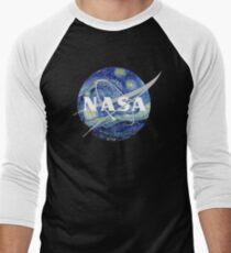 Sternenhafte NASA Baseballshirt für Männer