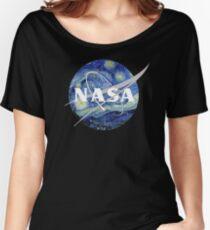 Starry NASA Women's Relaxed Fit T-Shirt