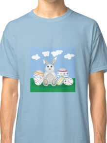 Easter Bunny with Eggs Classic T-Shirt