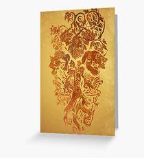 Warcraft Druid Emblem Greeting Card
